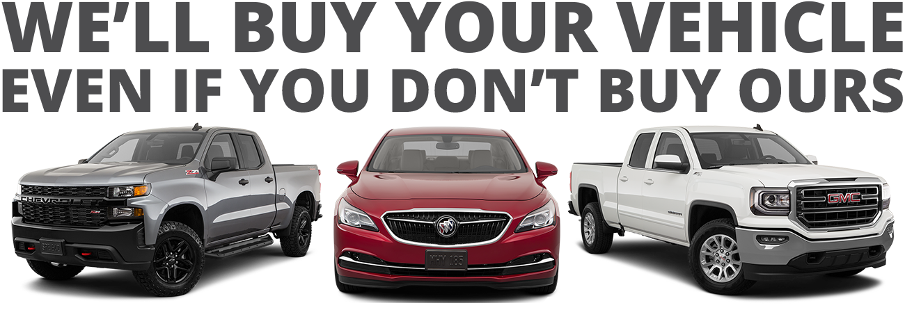 Sell Us Your Car | Southern Pines Chevrolet Buick GMC | NC ...