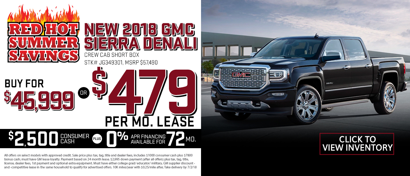2016 GMC Sierra Lease Special | near Boca Raton and Ft ...