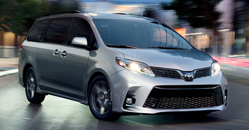 Awesome New 2018 Sienna DeLuca Toyota