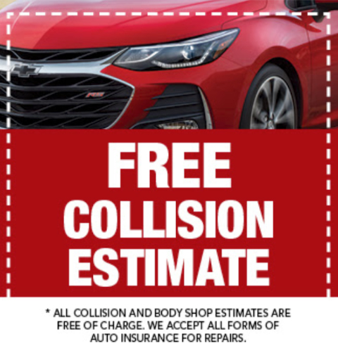 Free Collision Center Estiamtes