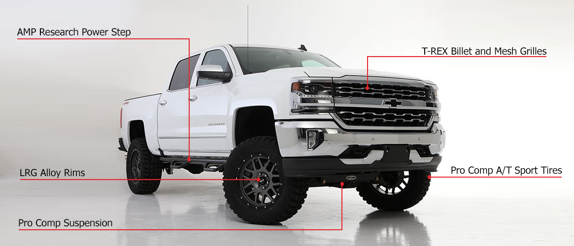 Custom Lifted Trucks For Sale Rick Hendrick Chevrolet Of Buford