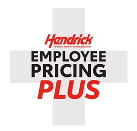 Hendrick Toyota North Charleston Employee Pricing Plus
