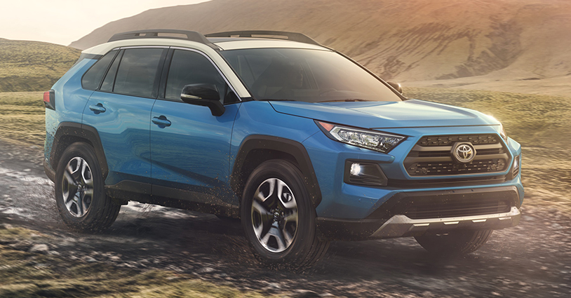 New 2019 RAV4 Hendrick Toyota North Charleston