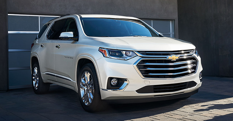 New 2019 Traverse Rosner Chevrolet