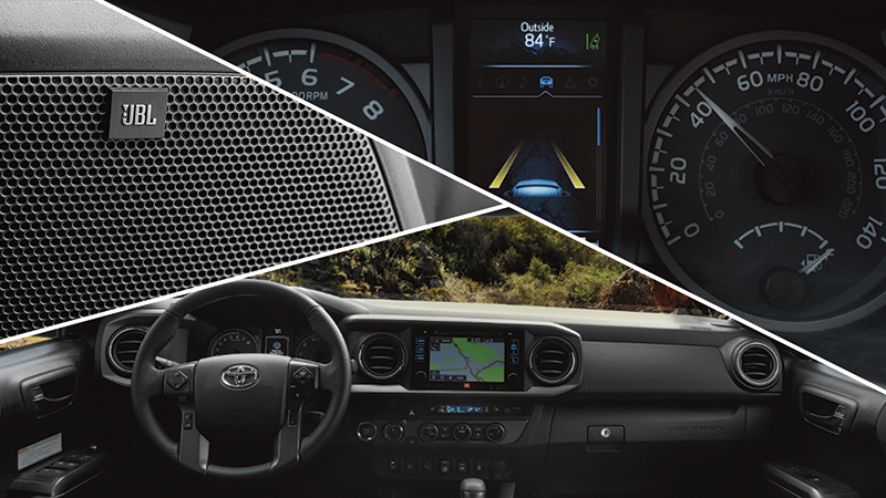 2019 Toyota Tacoma Interior Features