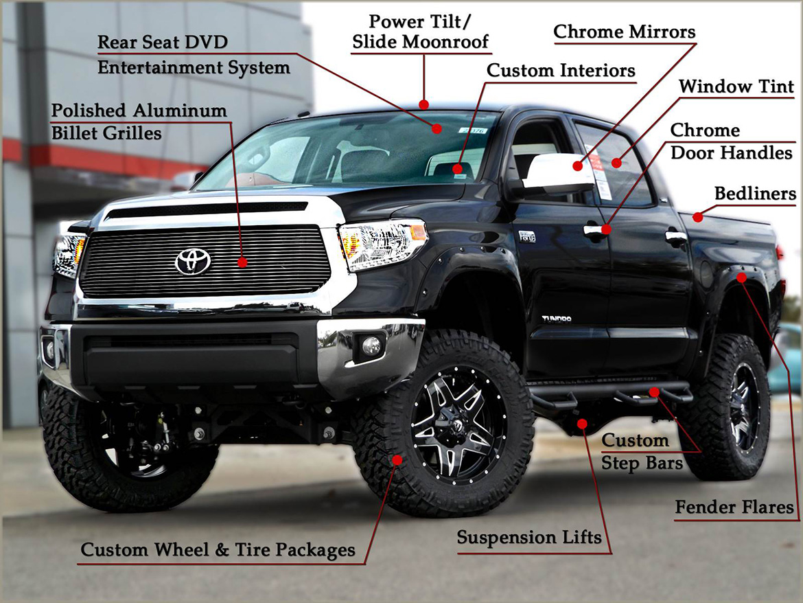 Toyota Tacoma Xsp >> Custom Tundra Trucks | Toyota of Henderson | NC Dealership