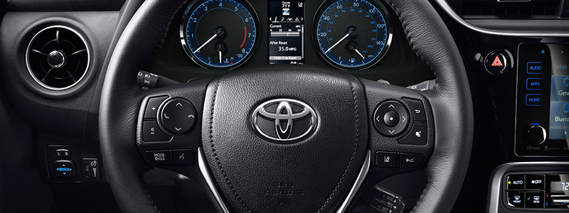Interior Features 2017 Corolla